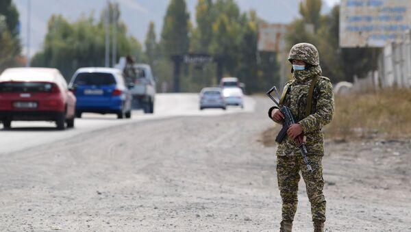 Војник Оружаних снага Киргизије - Sputnik Србија