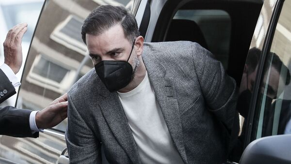 Nemački fudbaler Kristof Mecelder dolazi na suđenje zbog delenja dečje pornografije - Sputnik Srbija