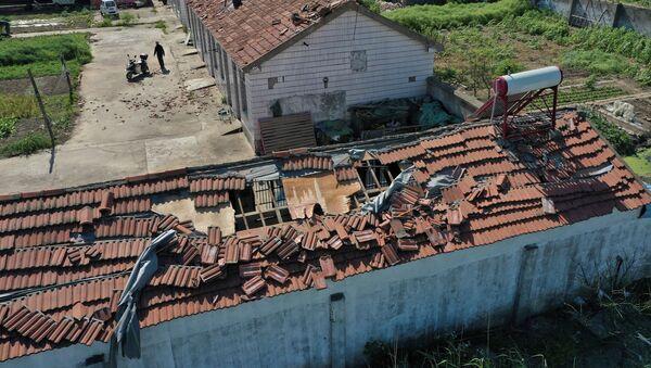 Posledice uragana na istoku Kine - Sputnik Srbija