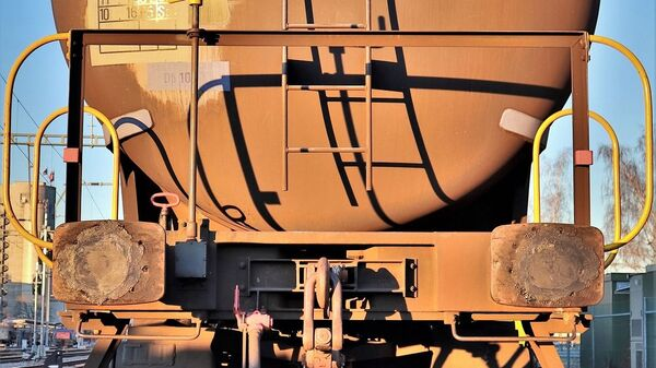 Cisterna na železnici - Sputnik Srbija