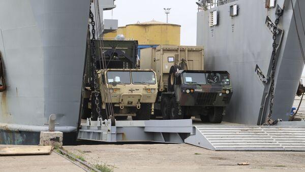 Америчка војска се искрцава у Драчу - Sputnik Србија