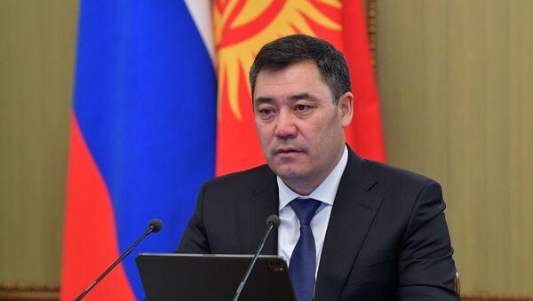 Председник Киргизије Садир Жапаров - Sputnik Србија