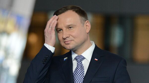Predsednik Poljske Andžej Duda - Sputnik Srbija
