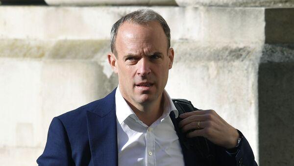 Ministar spoljnih poslova Velike Britanije Dominik Rab - Sputnik Srbija