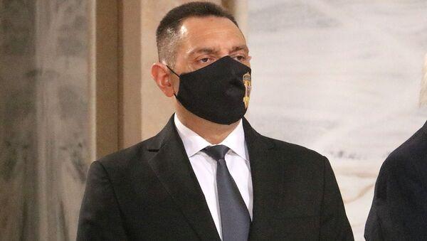 Ministar unutrašnjih poslova Aleksandar Vulin - Sputnik Srbija