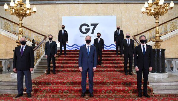 Учесници министарског самита земаља Г7 у Лондону - Sputnik Србија