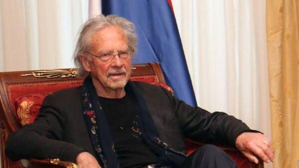 Peter Handke tokom posete Republici Srpskoj - Sputnik Srbija