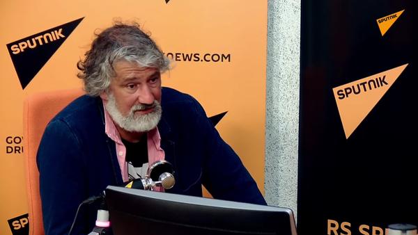 Vladimir Kuzmanović u emisiji Miljanov korner - Sputnik Srbija