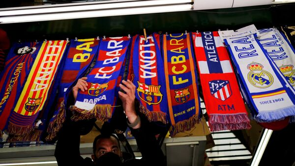 Šalovi najpoznatijih španskih fudbalskih klubova (Barselona, Atletiko, Real...) - Sputnik Srbija