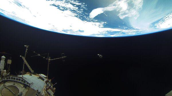 Поглед на Земљу са Међународне свемирске станице - Sputnik Србија