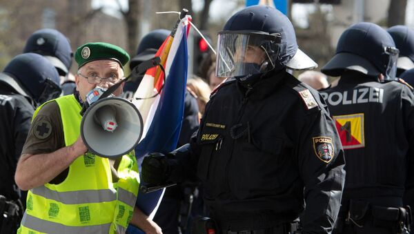 Протест у Бечу - Sputnik Србија