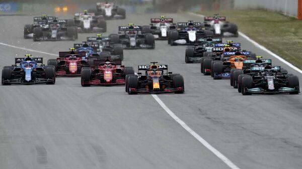 Detalj sa trke za Veliku nagradu Španije (Formula 1) - Sputnik Srbija