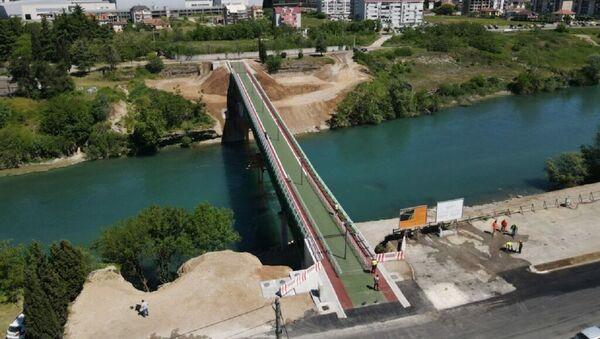 Нови пешачки мост у Подгорици - Sputnik Србија