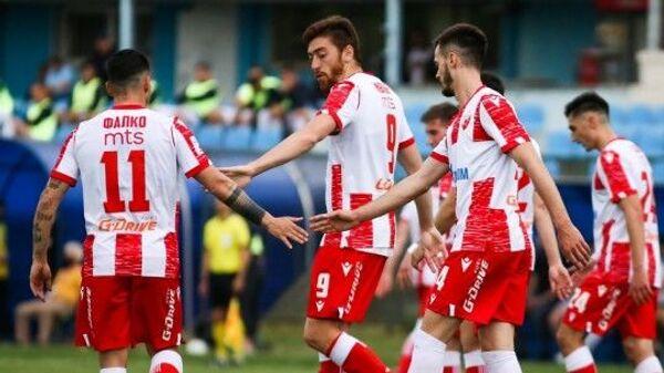 Фудбалери Црвене звезде: Филипо Фалко, Милан Павков и Мирко Иванић - Sputnik Србија