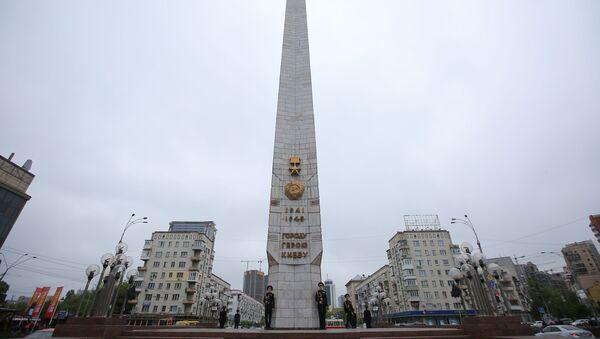 Споменик Заштитницима и ослободиоцима Кијева - Sputnik Србија