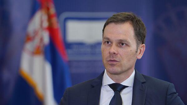 Ministar fininasija Siniša Mali - Sputnik Srbija