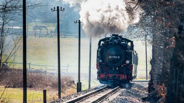 Voz sa parnom lokomotivom - Sputnik Srbija