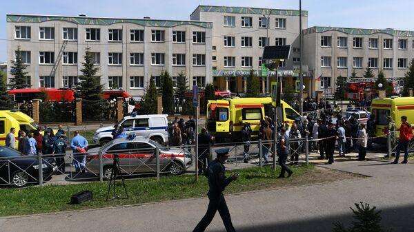 Ситуација у школи у Казању након пуцњаве - Sputnik Србија