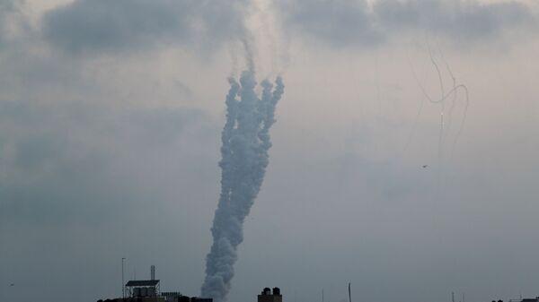 Лансирање ракете из Газе по Израелу - Sputnik Србија
