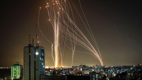Ракете лансиране из Газе на Тел Авив - Sputnik Србија