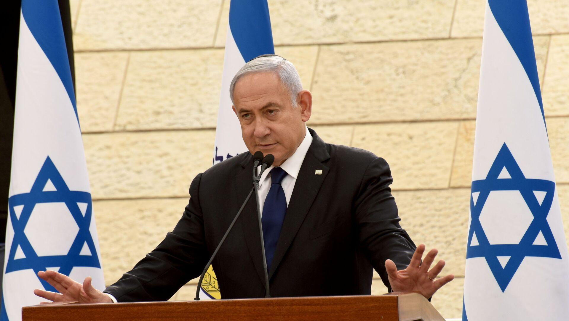 Премијер Израела Бењамин Нетанијаху  - Sputnik Србија, 1920, 16.05.2021