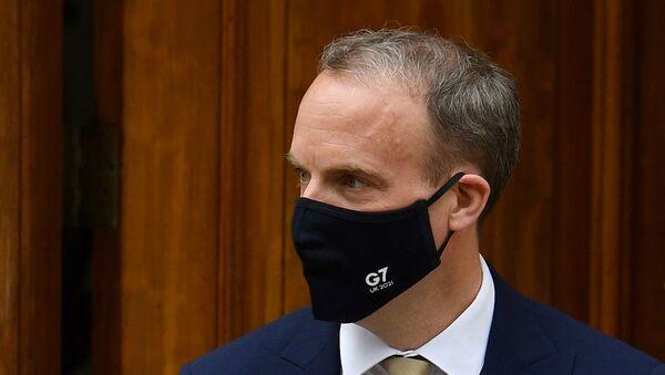Британски министар спољних послова Доминик Раб - Sputnik Србија