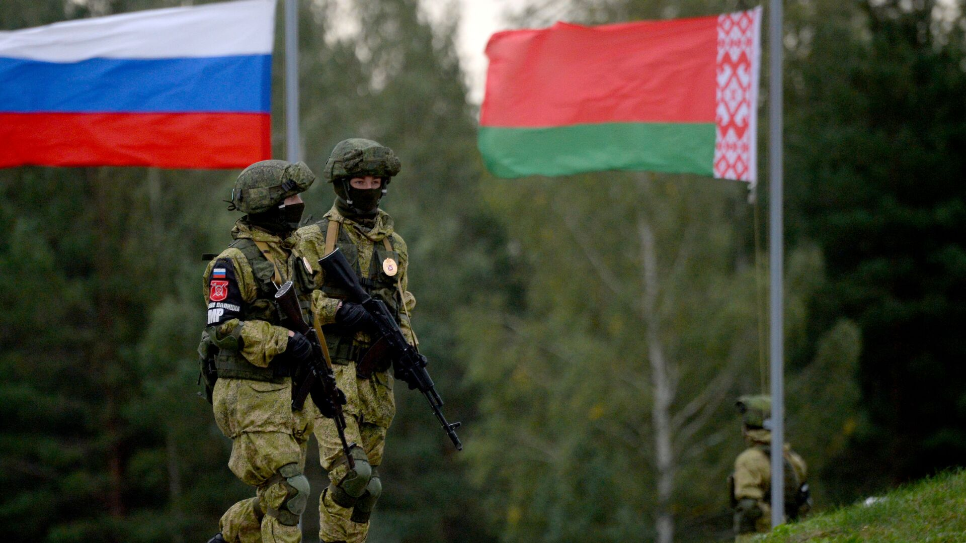 Rusko-beloruske vojne vežbe Zapad-2017  - Sputnik Srbija, 1920, 02.10.2021