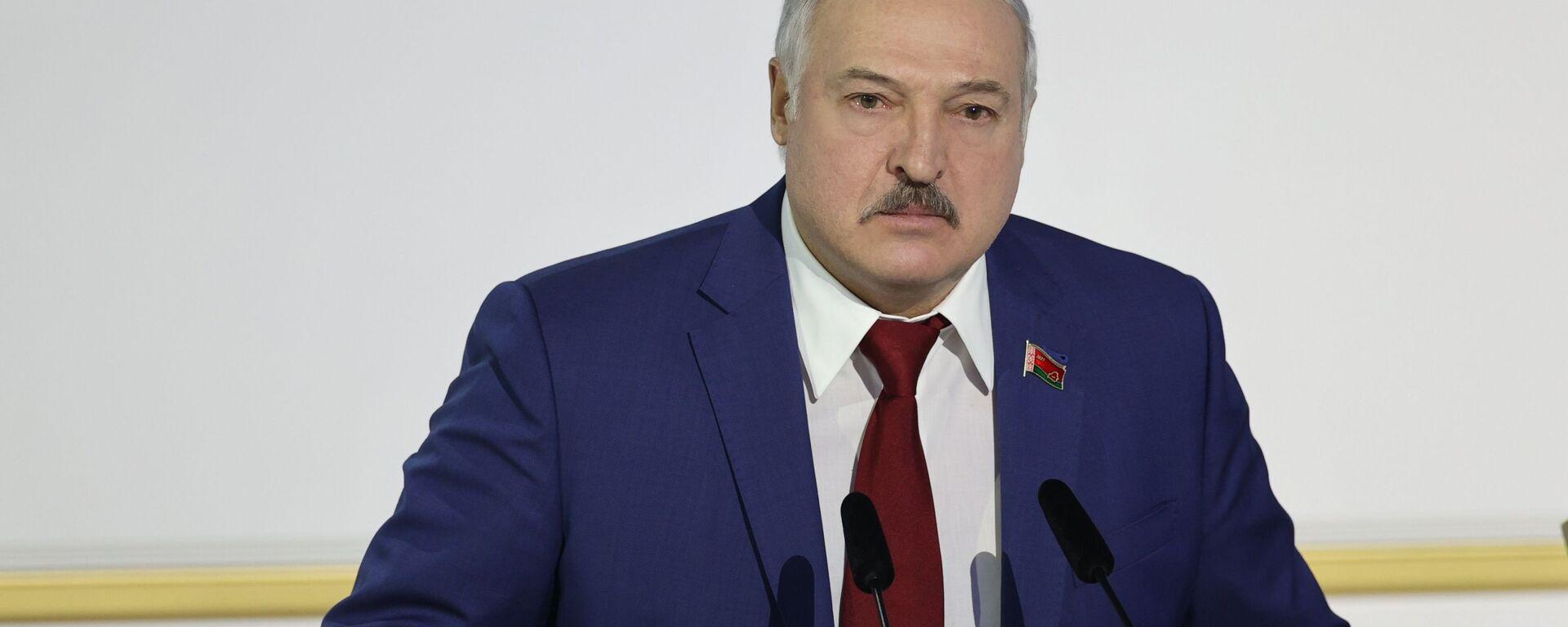 Председник Белорусије Александар Лукашенко - Sputnik Србија, 1920, 16.09.2021
