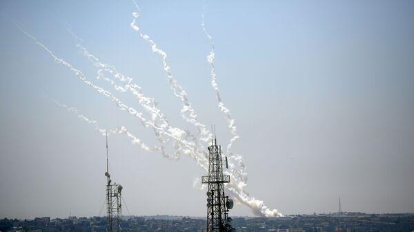 Ракетни напад из Газе на Израел - Sputnik Србија