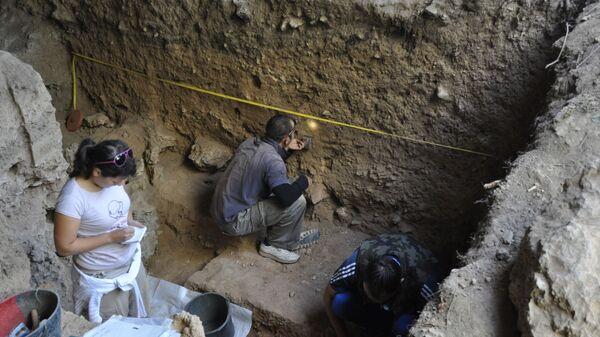 Археолошка истраживања у пећини Пештурина - Sputnik Србија