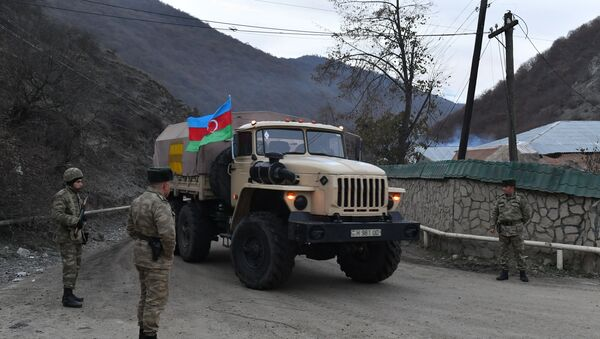 Azerbejdžanska vojska u Kelbadžarskom rejonu  - Sputnik Srbija