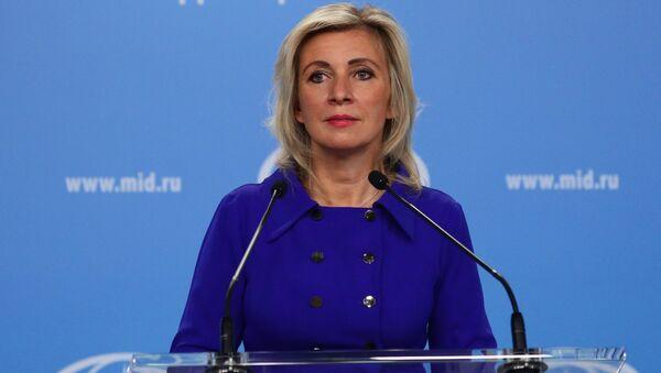 Брифинг официального представителя МИД РФ М. Захаровой - Sputnik Србија
