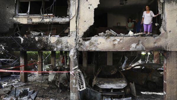Призор из Петах Тикве коју је ракетирала Газа - Sputnik Србија