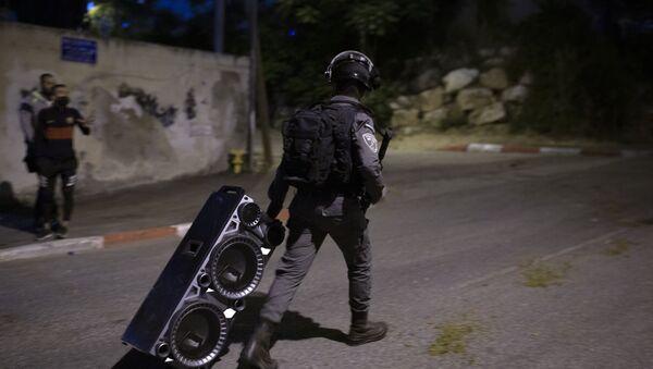 Izraelski granični policajac - Sputnik Srbija