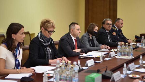 Састанак министра Александара Вулина са Николајем Патрушевим - Sputnik Србија