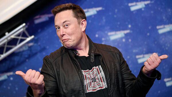 Osnovatelь kompaniй Tesla i SpaceX Ilon Mask - Sputnik Srbija