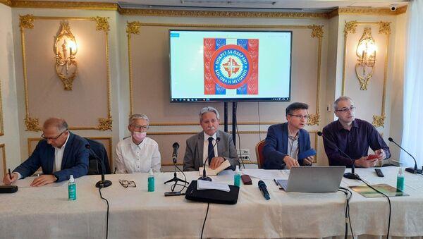 Sednica Pokreta za odbranu Kosova i Metohije - Sputnik Srbija
