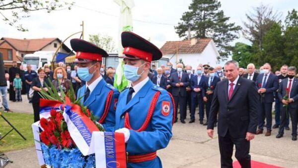 Обележавање злочина над припадницима ЈНА у Тузланској колони - Sputnik Србија