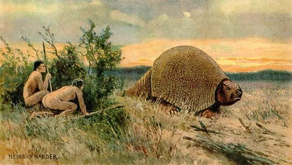 Лов на глиптодона - Sputnik Србија
