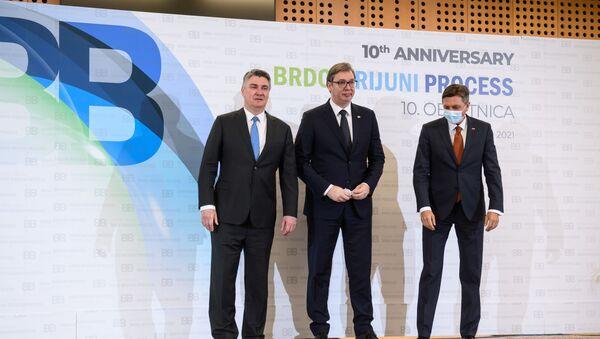 Samit lidera regiona Brdo Brioni u Sloveniji - Sputnik Srbija