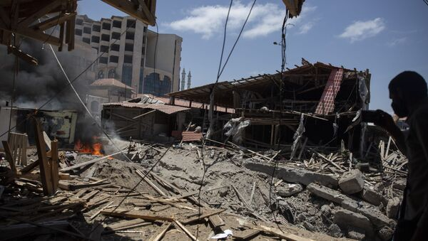 Ruševine u Gazi - Sputnik Srbija