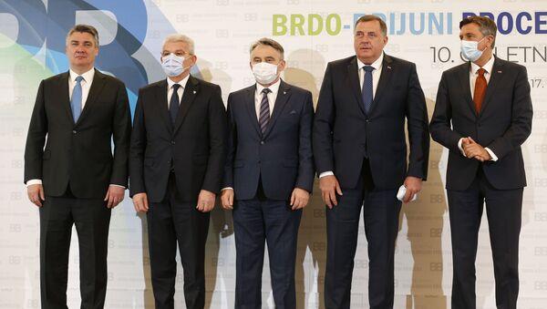 Brdo Brioni, Slovenija - Sputnik Srbija