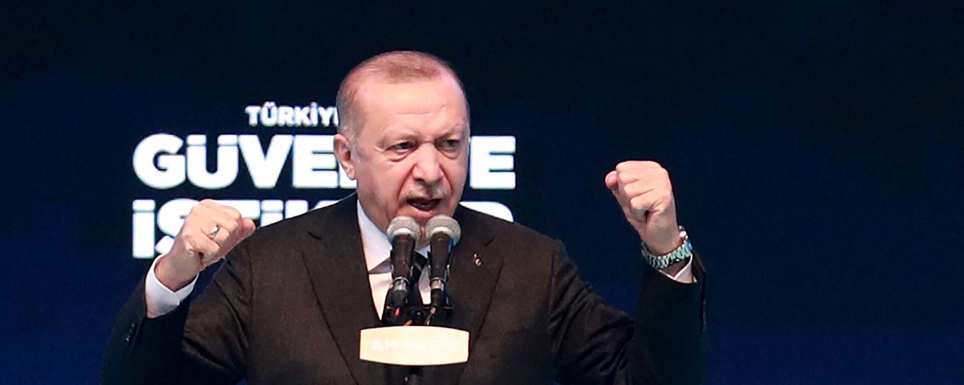 Predsednik Turske Redžep Tajip Erdogan - Sputnik Srbija, 1920, 25.08.2021