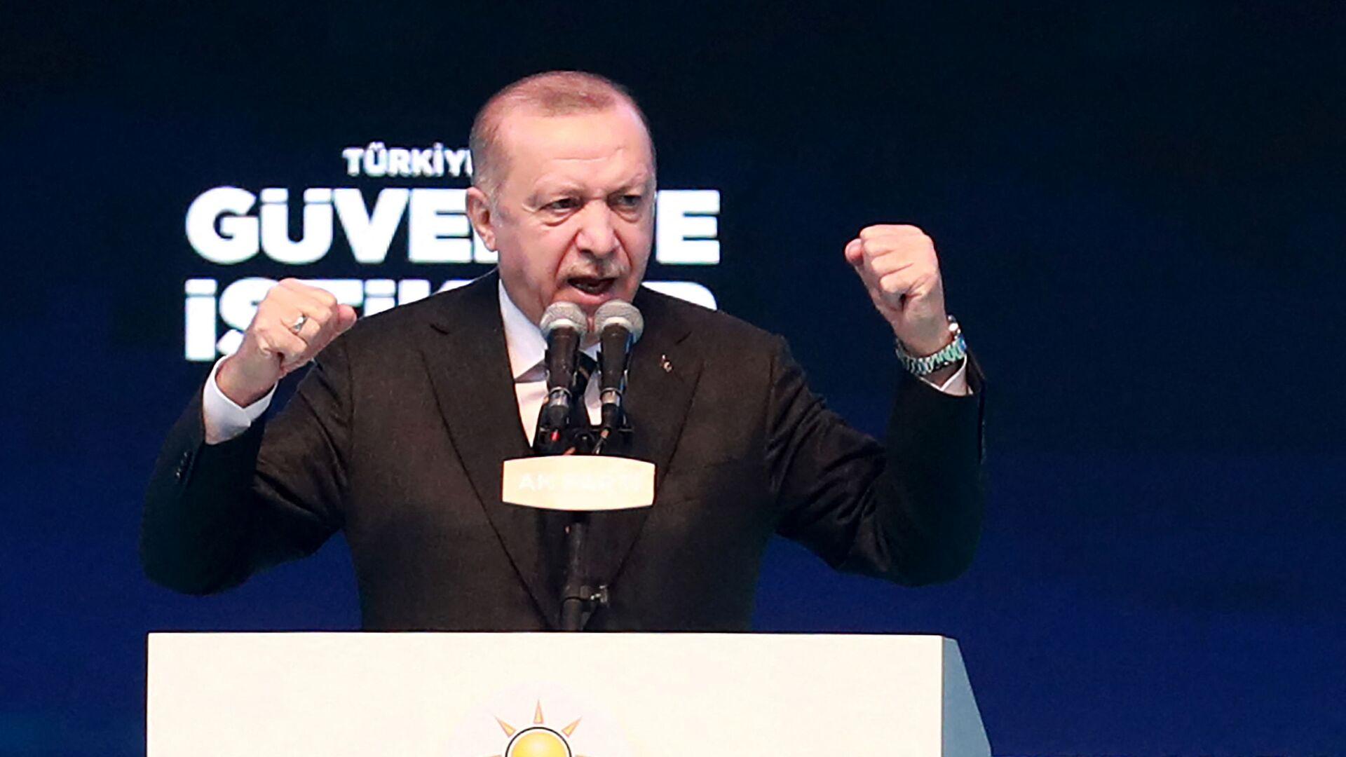 Predsednik Turske Redžep Tajip Erdogan - Sputnik Srbija, 1920, 14.06.2021