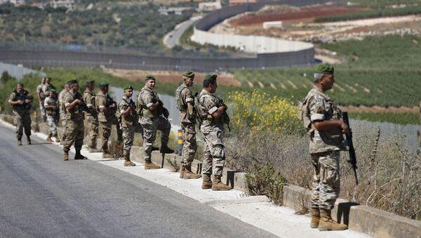 Libanski vojnici na libansko-izraelskoj granici - Sputnik Srbija