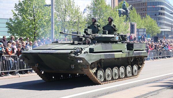 Borbeno oklopno vozilo BVP finske vojske - Sputnik Srbija