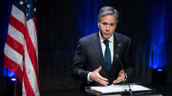 Američki državni sekretar Entoni Blinken - Sputnik Srbija