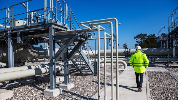 Izgradnja gasovoda Severni tok 2 u Lubminu u Nemačkoj - Sputnik Srbija