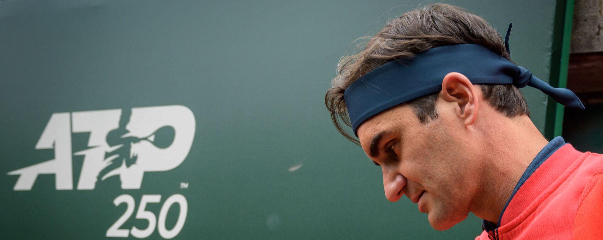 Rodžer Federer na turniru u Ženevi - Sputnik Srbija, 1920, 15.08.2021