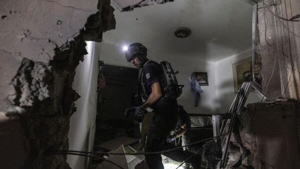 Оштећена кућа у Израелу - Sputnik Србија